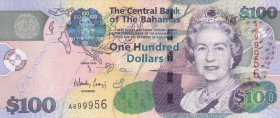 Bahamas, 100 Dollars, 2009, UNC, p76