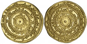 FATIMID, AL-MUSTANSIR (427-487h) Dinar, Barqa 448h Weight: 4.17g Reference: Nicol 1701 Extremely fine and extremely rare. Ex Baldwin's 'Classical Rari...