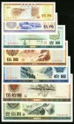 China Denomination Set of 1979-1988 Foreign Exchange Certificates Seven Examples About Uncirculated-Uncirculated.   HID09801242017