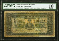 Australia Commonwealth of Australia 1 Pound ND (1914) Pick 4c PMG Very Good 10. A decent enough example of this rare type, which is the final of three...