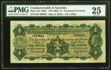 Australia Commonwealth of Australia 1 Pound ND (1923) Pick 12b PMG Very Fine 25. A scarce, earlier issue, before the creation of the Commonwealth Bank...