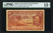 Bahamas Bahamas Government 10 Shillings 1919 (ND 1930) Pick 6 PMG Choice Fine 15 Net. A very rare note in any grade, and significantly more difficult ...