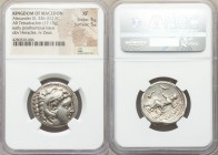 MACEDONIAN KINGDOM. Alexander III the Great (336-323 BC). AR tetradrachm (25mm, 17.19 gm, 2h). NGC XF 5/5 - 5/5. Posthumous issue of 'Amphipolis', ca....