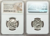 MACEDONIAN KINGDOM. Alexander III the Great (336-323 BC). AR tetradrachm (26mm, 17.12 gm, 11h). NGC XF 5/5 - 4/5. Posthumous issue of Amphipolis, ca. ...