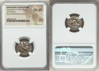 MACEDONIAN KINGDOM. Alexander III the Great (336-323 BC). AR drachm (17mm, 3h). NGC Choice XF. Early posthumous issue of 'Colophon', ca. 310-301 BC. H...