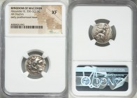 MACEDONIAN KINGDOM. Alexander III the Great (336-323 BC). AR drachm (19mm, 7h). NGC XF. Posthumous issue of Magnesia ad Maeandrum, ca. 305-297 BC. Hea...