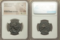 SYRIA. Seleucis and Pieria. Antioch. Augustus (27 BC-AD 14). AR tetradrachm (25mm, 1h). NGC VF. Dated year 42 of the Actian Era and year 60 of the Cae...