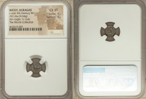 SICILY. Acragas. Ca. 450-440 BC. AR litra (11mm, 0.64 gm, 8h). NGC Choice VF 4/5 - 3/5. AK-RA, eagle standing left / Crab seen from above, IΛ (denomin...