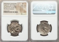 PTOLEMAIC EGYPT. Ptolemy VI Philometor (180-145 BC). AR stater or tetradrachm (27mm, 13.87 gm, 11h). NGC XF 4/5 - 4/5. Paphos, Regnal Year 21 (161/60 ...