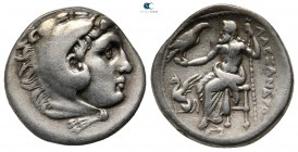 Kings of Macedon. Teos. Philip III Arrhidaeus 323-317 BC. In the name and types of Alexander III. Drachm AR
