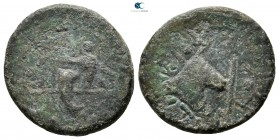 Kings of Thrace. Rhoemetalkes I 11 BC-AD 12. Bronze Æ