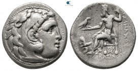 Kings of Thrace. Kolophon. Macedonian. Lysimachos 305-281 BC. In the types of Alexander III of Macedon. Drachm AR