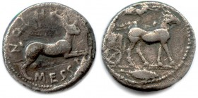 SICILY - MESSINA 480-461 B.C Tetradrachm