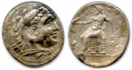 MACEDONIAN KINGDON - ALEXANDER III THE GREAT 336-323 B.C Tetradrachm