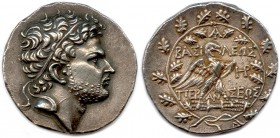 MACEDONIAN KINGDON - PERSEUS (Last king of Macedonia) 178-168 B.C Tetradrachm