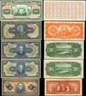 BRAZIL. Mixed Banks. Lot of (5) Mixed Denominations, Mixed Dates. P-Various. Very Fine.