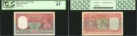 BURMA. Reserve Bank of India. 5 Rupees, ND (1938). P-4. PCGS Currency Choice New 63.