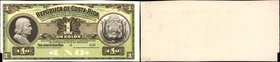 COSTA RICA. Republica de Costa Rica. 1 Colon, 190x. P-142p. Proof. Choice Uncirculated.