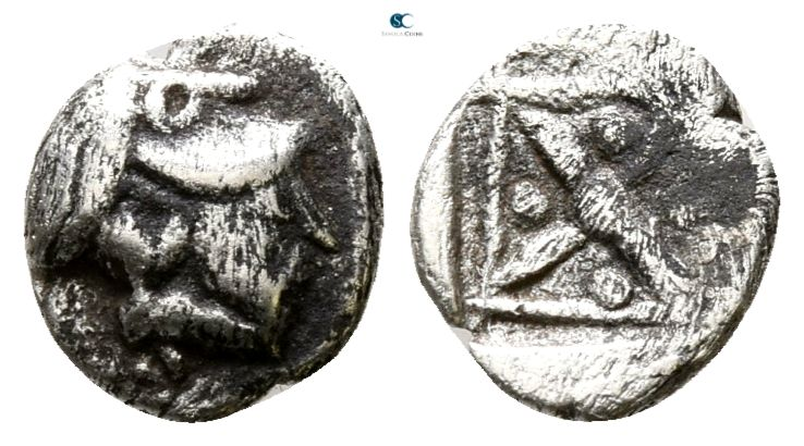 Asia Minor. Uncertain mint circa 500-400 BC. 
