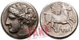 "The Carthaginians in Sicily and North Africa. Carthage circa 260 BC. SOLD AS SEEN; MODERN REPLICA / NO RETURN !. Electrotype ""Decadrachm"""