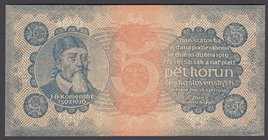 Czechoslovakia 5 Korun 1921