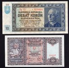 Slovakia Lot of 2 SPECIMEN Banknotes 1939 - (1940)