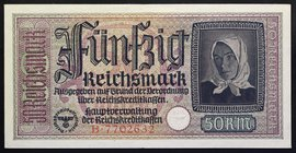 Germany Occup. Territories 50 Reichsmark 1940