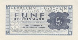 Germany - Third Reich 5 Mark 1944