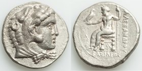 MACEDONIAN KINGDOM. Alexander III the Great (336-323 BC). AR tetradrachm (26mm, 16.81 gm, 6h). VF, porosity. Lifetime or early posthumous issue of Ara...