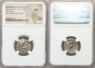 MACEDONIAN KINGDOM. Alexander III the Great (336-323 BC). AR drachm (19mm, 11h). NGC AU. Posthumous issue of Miletus ca. 295/0-275/0 BC. Head of Herac...