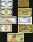 World Mixed (Egypt, Pakistan, Saudi Arabia) Group Lot of 9 Examples Very Good-Uncirculated.   HID09801242017