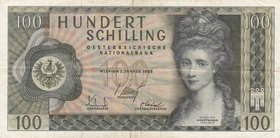 Austria, 100 Shillings, 1969, VF, p146a