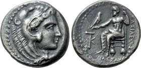 KINGS OF MACEDON. Alexander III 'the Great' (336-323 BC). Tetradrachm. Kition. Possible lifetime issue.