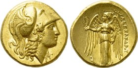 KINGS OF MACEDON. Alexander III 'the Great' (336-323 BC). GOLD Stater. Uncertain mint in western Asia Minor.