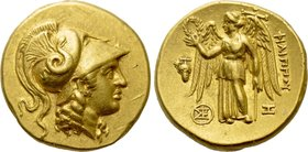 KINGS OF MACEDON. Philip III Arrhidaios (323-317 BC). GOLD Stater. Arados (?).