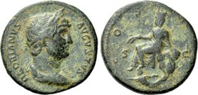 HADRIAN (117-138). As. Rome. Struck for use in Seleucis & Pieria.