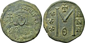 THEOPHILUS (829-842). Follis. Constantinople.