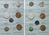 7 Modern and Medieval Coins of Austria, Italy and Hungary.