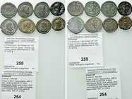 8 Roman Imperial and Provincial Coins.