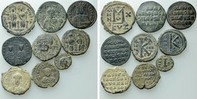 9 Byzantine Coins and Seals.