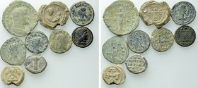 9 Roman and Byzantine Coins and Seals.