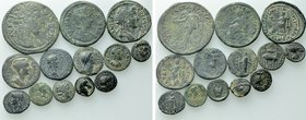 13 Greek and Roman Provincial Coins.
