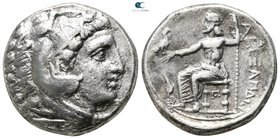 Kings of Macedon. Amphipolis. Kassander 306-297 BC. As regent, 317-305 BC. In the name and types of Alexander III. Struck circa 316-311 BC. Tetradrach...