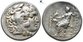 Thrace. Mesembria circa 250-125 BC. In the name and types of Alexander III of Macedon. Tetradrachm AR