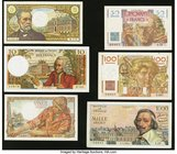 Six Notes from France Issued from the 1940s to the 1960s. Very Fine or Better.   HID09801242017