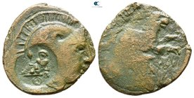 Eastern Europe. Imitations of Lysimachos of Thrace circa 280-250 BC. Bronze AE