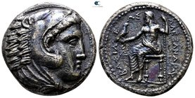 Kings of Macedon. Amphipolis. Philip III Arrhidaeus 323-317 BC. In the name and types of Alexander III. Tetradrachm AR