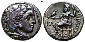 Kings of Macedon. Kolophon. Philip III Arrhidaeus 323-317 BC. In the types of Alexander III. Drachm AR