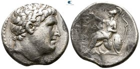 Kings of Pergamon. Pergamon. Eumenes I 263-241 BC. In the name of Philetairos. Tetradrachm AR