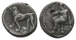 CILICIA, Tarsos. Mazaios. Satrap of Cilicia, 361/0-334 BC. AR Half Stater